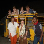 INDIA with volunteers