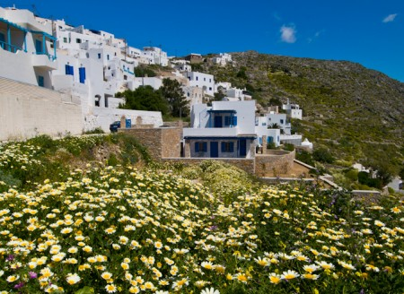 europe; greece; cyclades; amorgos; tholaria, village